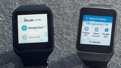 Blue Link mit Android Wear
