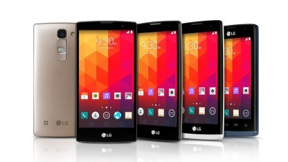 Die neuen Android-Smartphones Joy, Leon, Spirit und Magna von LG