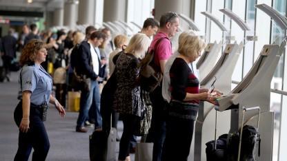 Die Daten von Flugpassagieren sollen in der EU fünf Jahre lang gespeichert werden.