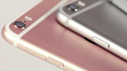 Noch ist das pinkfarbene iPhone nur eine Bildmontage.