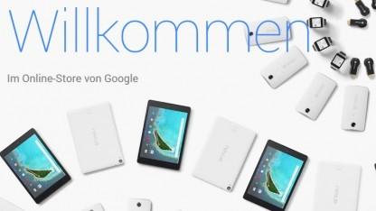 Google eröffnet speziellen Onlinestore für Hardware.