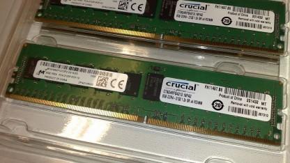 Die ECC-Funktion von RAM-Chips ist offenbar eine wirksame Verteidigung gegen die Rowhammer-Lücke.