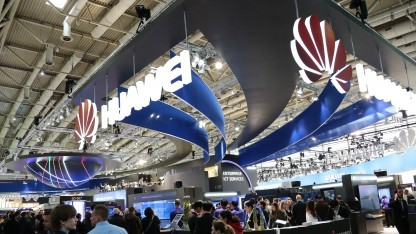 Stand Huawei auf der Cebit 2015