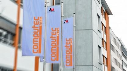 Der Standort von Computec Media in Fürth