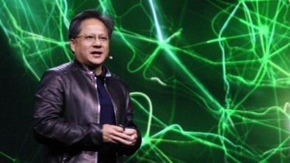 Nvidia-Chef Jen-Hsun Huang auf der GTC 2015