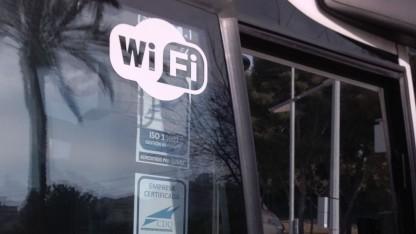 WLAN im Bus in Spanien