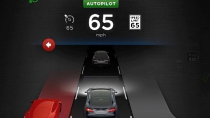 Autopilot im Tesla S