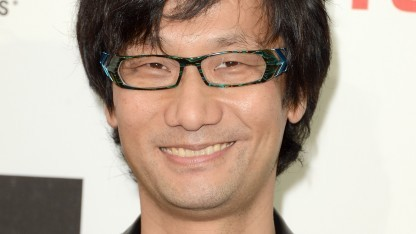 Hideo Kojima 2012 bei einer Preisverleihung