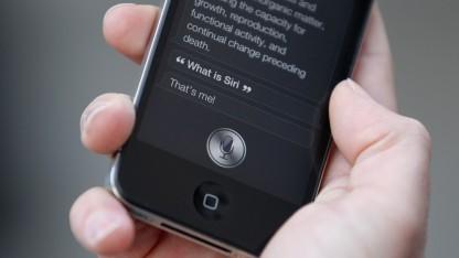 Apples Siri auf einem iPhone 4S - nur einer von mehreren virtuellen Assistenten für Mobiltelefone