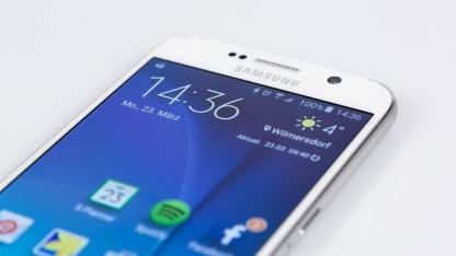 Samsungs Galaxy S6 vergisst Schnelleinstellungen.
