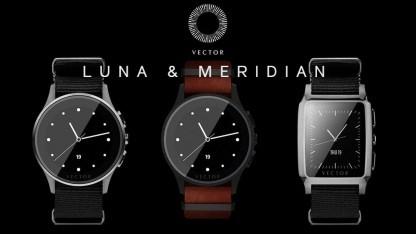 Die neuen Smartwatches Luna und Meridian von Vector