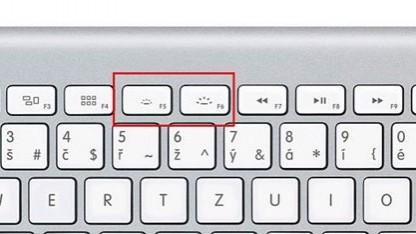 Apple Wireless Keyboard mit Tasten zur Helligkeitsregulierung