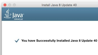 Java für OS X wird derzeit nicht in allen Ländern mit der Ask Toolbar ausgeliefert.