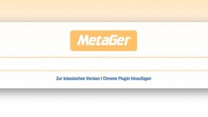 Die Suchmaske von Metager