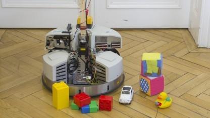 Aufräumroboter im Einsatz: Stunden oder Tage mit Rechnen beschäftigt