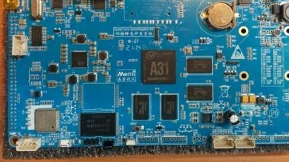 Das Entwicklerboard Hummingbird mit dem Allwinner A31 SoC