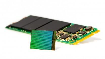 M.2-SSD mit Micron 3D-NAND-Die