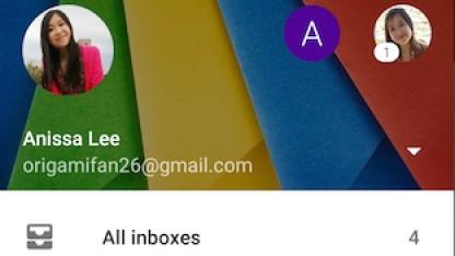 Gmail für Android mit gemeinsamer Inbox