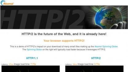 Die HTTP/2-Demo von Akamai