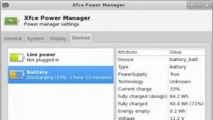 Xfce 4.12 erhält eine verbesserte Energieverwaltung.