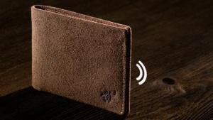 Woolet ist mit dem Smartphone verbunden