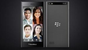 Das Blackberry Leap besitzt keine Hardwaretastatur.