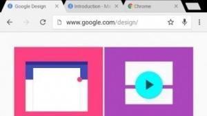 Chrome im Material Design von Android 5.0