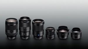 Sony-Objektiv-Lineup für den Sommer