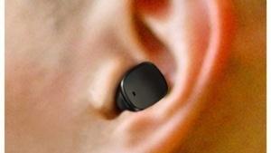 So klein könnten Drahtlos-Ohrhörer sein.