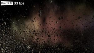 Asteroid-Demo mit D3D12