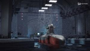 Die U-Boot-Szene des Basemark ES 3.1