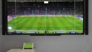 Regie-App für den Fernsehzuschauer: Rahmen zeigt den Bildausschnitt auf dem Tablet