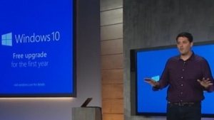 Windows-Chef Terry Myerson: Windows 10 erscheint im Sommer.