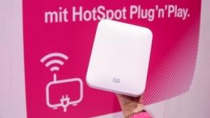 Plug'n'Play Hotspot auf der Cebit 2015
