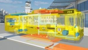 Die Buslinie 204 wird Berlins erste Induktionsbuslinie werden.