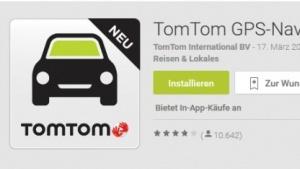 Tomtom stellt Android-App auf Abomodell um.