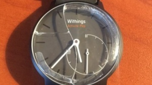 Zerbrochene Withings Activité Pop