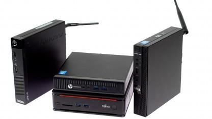 Während Linux sämtliche Hardware der getesteten Minirechner unterstützt, gibt es Probleme bei der Installation neben Windows.
