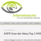 DNS/AXFR: Nameserver verraten Geheim-URLs