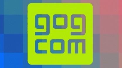 Logo von Gog.com (Good old Games)