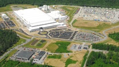 Luftbild der Fab 8 im US-Bundesstaat New York