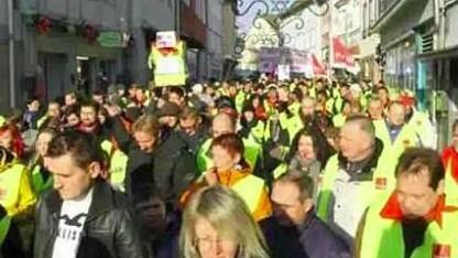 Verdi-Foto bei Facebook vom Amazon-Streik