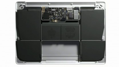Rendering der Macbook-Hardware
