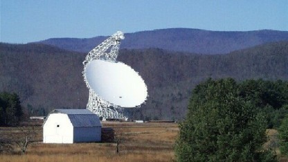 Green Bank Telescope: Beobachtungszeit an zwei der größten Radioteleskope der Welt