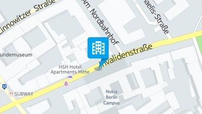 Berliner Niederlassung von Nokia Here in Nokia Here