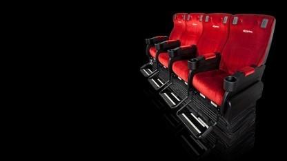 Bewegliche Sitze des 4DX-Systems