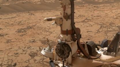 Hat möglicherweise flüssiges Wasser gefunden: Marsrover Curiosity