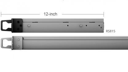 Die neue Rackstation RS815 ist nur noch 290 mm tief.