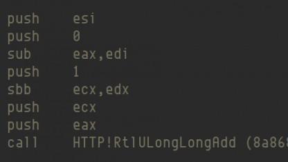 Der verwundbare Code im HTTP.sys-Treiber