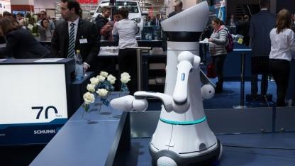 Care-O-bot 4: Modularer Roboter ist Kleinserien-tauglich.